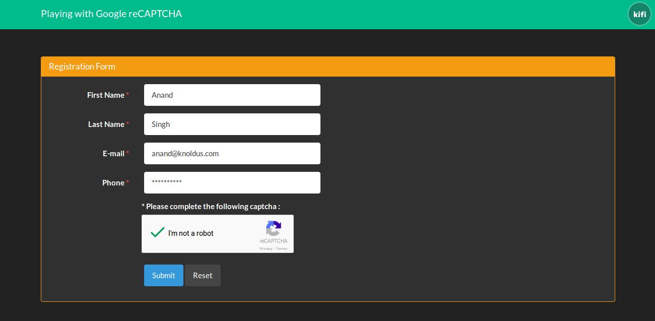 google_recaptcha_form