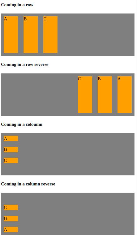 CSS flex