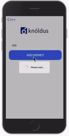 Add money to your KnolMoney wallet