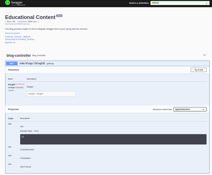 A much more descriptive and useful swagger UI for our API's consumers.  Documenting REST API's.
