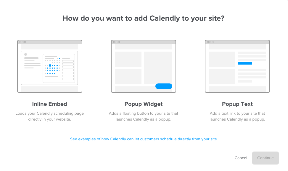 Calendly-embed-modal